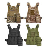 Swat Battle tactique léger militaire Airsoft Combat Assault Carrier Gilet