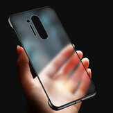 Bakeey Anti-Fingerprint Anti-Scratch Ultra-Thin Frameless Mate Translúcido Duro Protector de PC Caso para OnePlus 8 Pro