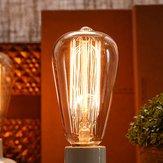 St58 e27 40w retrò lampadina edison lampadina a incandescenza 220V AC