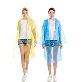 Унисекс прозрачный плащ Водонепроницаемы куртка с капюшоном от дождя мотоцикл велосипед пончо дождевики для детей мужчин Женское