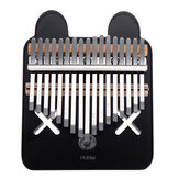 17 Keys Kalimbas Crystal Thumb Piano Acrylic Portable Musical Instrument Gifts for Kids Adult Beginners