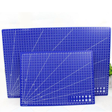 A3/A4 Cutting Board In Blue Plastic Hand Pad Single Side With Scale DIY Pad