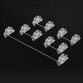 5 / 8Pcs 6.25U2UメカニカルサテライトスイッチDIYカスタマイズ用PCBプレートスタビライザーメカニカルゲーミングキーボード