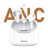 Baseus SIMU S1 ANCTWSイヤホンワイヤレスBluetooth5.1ヘッドフォンDSPノイズリダクションHIFI10mmダイナミックスマートタッチマイク付きインイヤーイヤフォン