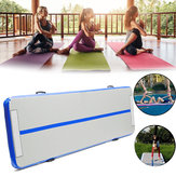 200x200x20cm Inflatable Gymnastics Mat Airtrack Yoga Mattress Floor Tumbling Pad Gym Exercise