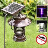 Garden Solar Power Anti-mosquito LED Light Indoor Outdoor Waterproof Mosquito Killer Lamp