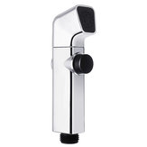 ABS Bathroom Portable Bidet Sprayer Handheld Toilet Bidet Shower Head Sprayer w/ Button for Personal Hygiene