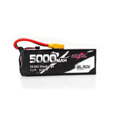 CNHL BLACK SERIES 5000mAh 11.1V 3S 65C Lipo Battery XT90 Plug for RC Drone FPV Racing