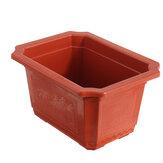 10Pcs/Set Plastic Flowerpot Nursery Flower Pots Garden Plant Succulent Container
