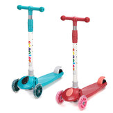 Kid Scooter Adjustable Height with 3 Luminous Wheel for 2-7 Years Old Children Gift