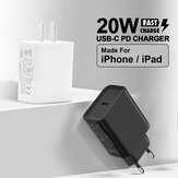 Bakeey 20W USB-C PD Charger Travel Charger Adapter Fast Charging For iPhone 12 Pro Max Mini OnePlus 8Pro 8T