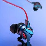 Baseus H15 3,5 mm Przewodowe słuchawki do gier HiFi Douszne słuchawki stereo z mikrofonem