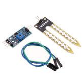 2 adet Toprak Higrometre Nem Algılama Modülü Nem Sensör Geekcreit Arduino-Arduino panoları için resmi ile çalışan ürünler