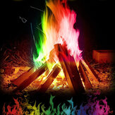 30g Mystical Fire Coloured Magic Flame for Bonfire Campfire Party Fireplace Flames Powder Magic Trick Pyrotechnics Toy