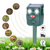 -WH528 Outdoor Solar Ultrasonic Animal Repeller Pest Control Bats Birds Dogs Cats Repeller with Flashing Light
