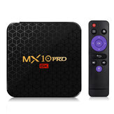 MX10 Pro Allwinner H6 4 Go RAM 64GB ROM 2.4G WIFI Android 9.0 6K 4K TV Box