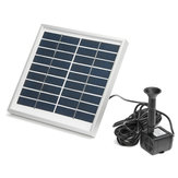 3W Solar Panel Powered Submersible Fountain Pump Water Pond Kit Garden Fish Tank