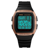SKMEI 1278 50m Impermeable LED Fecha Reloj digital luminoso