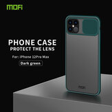 Mofi Anti-Hacker Peeping Sliding Lens Protection Cover Anti-scratch Translucent Protective For iPhone 12 Pro Max 6.7 Inch