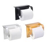Suporte de telefone de papel higiênico multifuncional sem furador com prateleira de armazenamento para celular Montado na parede Banheiro Rack