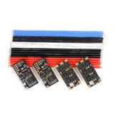 4 PCS Holybro Tekko32 F3 35A ESC BLHeli_32 3-6S F3 MCU Dshot1200 Build In Current Sensor WS2812B LED