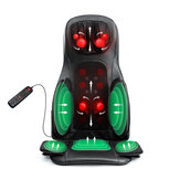 BlitzWolf BW-MGS3 Massage Cushion Remote Control Multifunction Heating Vibration Air Compression Massager For Neck Shoulder Back Hip Waist Muscle Relaxation