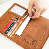 Kadınlar 2 SIM Kart Yuvaları 4 Kimlik Tutucu Ultra-ince RFID Pasaport Cüzdanı