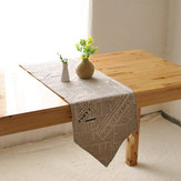 America Style Cotton Linen Tableware Mat Heat Insulation Bowl Pad Table Runner Tablecloth Desk Cover
