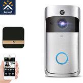 Wifi Akıllı Video Kapı Zili Interkom PIR Algılama Kamera Gece Görüş Bulut Depolama