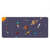 Rocket Explore Game Pad Pad Μεγάλου μεγέθους Επιτραπέζιο παιχνίδι Παχιά κλειδωμένη άκρη Αντιολισθητικό καουτσούκ Mat Mat για οικιακό γραφείο