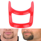 Mustache Beard Styling Template Tools