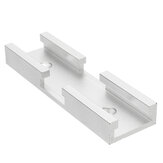 Machifit 80mm T-track Connector T-slot Miter Track Jig Fixture Slot Connector For Router Table