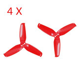 4 Pairs Gemfan Flash 2540 2.5x4 2.5 Inch 3-Blade Propeller with 1.5mm Mounting Hole for RC Drone FPV Racing