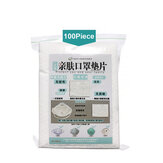 100Pcs Hygienic Replacement Face Mask Pads Anti-dust Gasket Safety Protective Mouth Mask Filter Pad