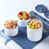 Kalar 990ml Bento Öğle Yemeği Kutu Yemek Gıda Kabı Mikrodalga Isıtma Soğutucu Piknik Barbekü