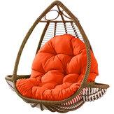 ハンモックチェアシートクッションハンギングスイングシートパッド厚い巣ハンモックチェアバックピローホームオフィス家具アクセサリー