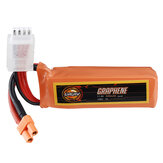 URUAV GRAPHENE 11.4V 450mAh 100C 3S HV Lipo البطارية XT30 Plug for RC Racing Drone