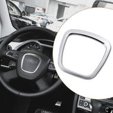 Aluminiumlegering Car Steering Wheel Sticker Body Emblem Trim for Audi A3/A4/A5/Q5/Q7