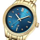CURREN 9010 Waterproof Crystal Elegant Design Women Watch