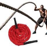 3 ألوان 25 ملم قطر. سليمالجسم حبل القفز الثقيل 300 سم المرجح معركة تخطي الحبال القوة تحسين حبل تدريب قوة العضلات