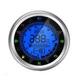 20000 دورة في الدقيقة دراجة نارية رقمي عداد المسافات عداد السرعة مقياس سرعة الدوران رحلة متر والعتاد 1-6