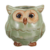 Kawaii Fat Owl Pot En Céramique Mini Fleur Plante Succulente Bonsaï Home Garden Decor Planteur