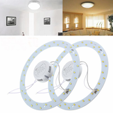 9W 36 LED White/Warm White Panel Circle Annular Practical Efficient Ceiling Light 220V