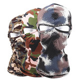 Camouflage Outdoor Full Face Maschera