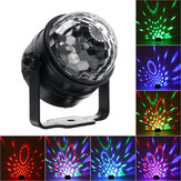 6W 110-240V 6 Modes RGB Disco Party Lights Strobe LED DJ Ball Sound Activated Bulb Dance Lamp Holidays Decor