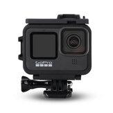 Proteção anti-queda contra dissipação de calor Caso para câmera esportiva Gopro 9 Black
