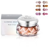 8 kleuren 3D markeerstiften Powder Gel Glow Face Shimmer Powder