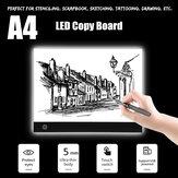 A4 LED Light Box Board Pad  Art Craft Drawing Adjustable Tracing Tattoo Sketch