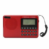 Portable FM AM SW 21 Bands DSP Digital Radio USB TF Card MP3 Music Player Speaker With Telescopic Antenna