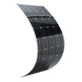 Elfeland® SP-36 120W 12V 1180*540mm Monocrystalline Semi Flexible Solar Panel With 1.5m Cable & Rear Junction Box